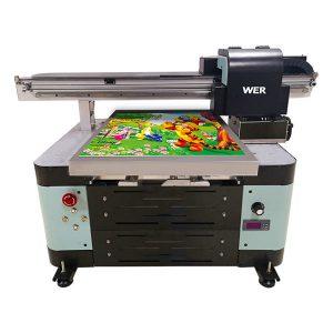 12 krāsu tintes a2 automātiskā tx6090 uv printera plakanvirsmas printeris