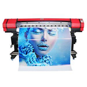 plaša formāta 6 krāsu flexo banner uzlīmju šķīdinātāja tintes printeris
