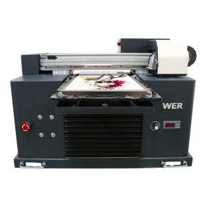 Astoņas krāsas lētas cenas 3D digitālais dtg t-kreklu printeris apģērbam, tekstila plakanvirsmas printeriem pārdošanai