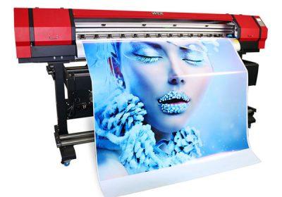 1,6 m liela iekštelpu eko šķīdinātāja mazo PVC vinila printeris