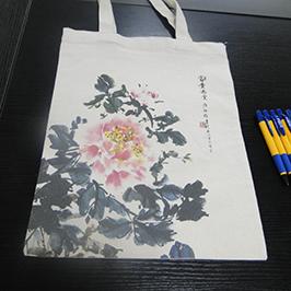 Audekla maisiņu drukas paraugs ar A2 t-kreklu printeri WER-D4880T