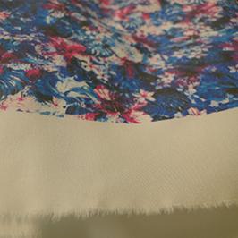 Digitālais tekstila apdrukas paraugs 2 ar digitālo tekstila printeri WER-EP7880T