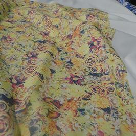 Digitālais tekstila apdrukas paraugs 3 ar A1 digitālo tekstila printeri WER-EP6090T