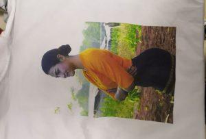 T krekli drukas paraugs Birmas klientam no WER-EP6090T printera