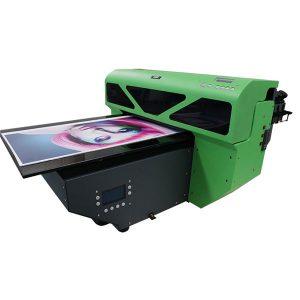 dx7 drukas galviņas digitālā a2 izmēra uv plakanvirsmas printeris